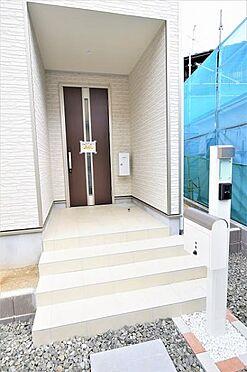 新築一戸建て-仙台市太白区金剛沢2丁目 玄関