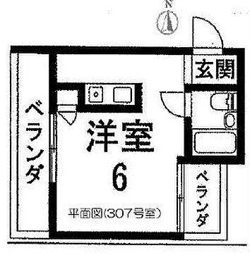 マンション(建物全部)-京都市伏見区海老屋町 間取り