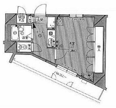 マンション(建物一部)-北九州市小倉南区北方2丁目 間取り