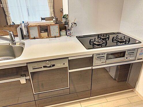 戸建賃貸-知多郡東浦町大字石浜字南ヶ丘 家事の時短にもなる食洗機付きのキッチン