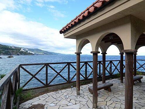 中古マンション-熱海市上多賀 ここからの熱海、湯河原、真鶴方面への海岸線の眺めは絵画の様です。