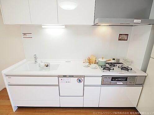 区分マンション-千葉市美浜区高浜4丁目 食器洗い乾燥機付きのシステムキッチンです!