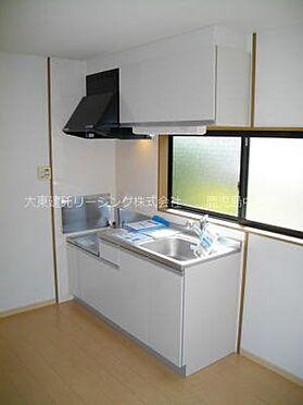 アパート-熊本市北区楡木4丁目 102号室キッチン