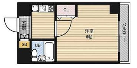 マンション(建物一部)-大阪市淀川区西三国1丁目 間取り