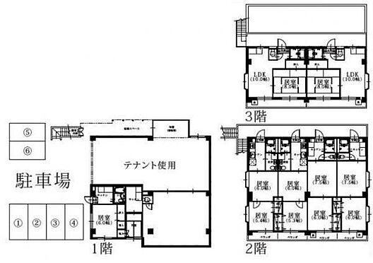 マンション(建物全部)-武蔵野市八幡町1丁目 間取り