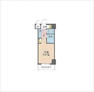 マンション(建物一部)-神戸市中央区熊内町4丁目 間取り