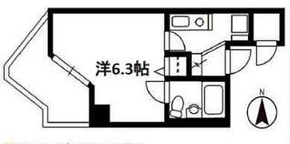 マンション(建物一部)-京都市伏見区向島本丸町 間取り