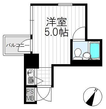 区分マンション-神戸市中央区古湊通1丁目 間取り