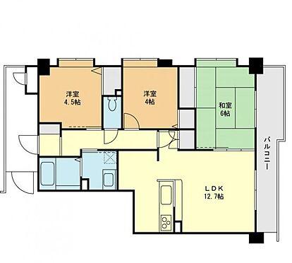 マンション(建物一部)-小平市上水本町4丁目 間取図