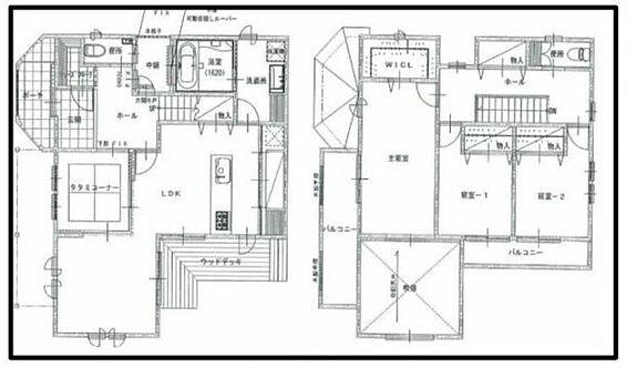 新築一戸建て-名古屋市守山区小幡北 吹き抜けがある開放的な空間です。