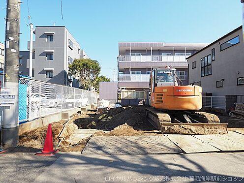 新築一戸建て-千葉市美浜区高洲1丁目 現地現場です!