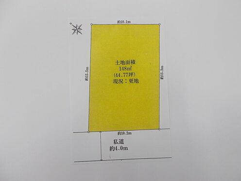 土地-八王子市緑町 区画図