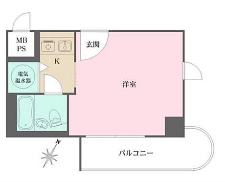 区分マンション-神戸市中央区元町通5丁目 間取り