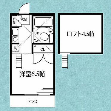 アパート-横浜市神奈川区羽沢南2丁目 間取り