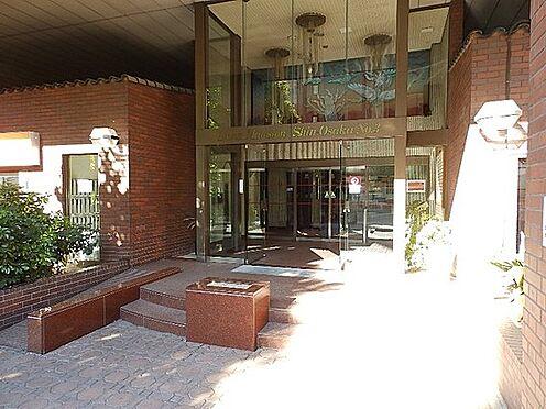 区分マンション-大阪市淀川区西中島2丁目 広々としたアプローチ