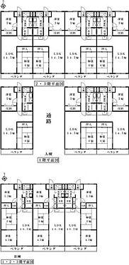 マンション(建物全部)-美濃加茂市田島町1丁目 間取り