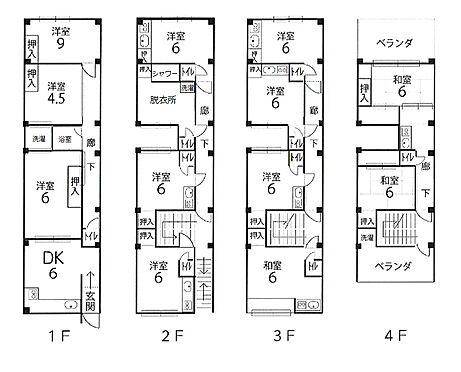 アパート-京都市下京区富松町 間取り