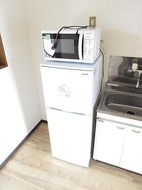 アパート-那須塩原市黒磯 家具家電設置例