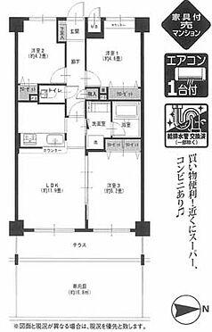 マンション(建物一部)-横浜市旭区柏町 間取り
