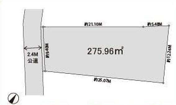 アパート-狭山市入間川3丁目 配置図