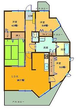 マンション(建物一部)-北九州市小倉南区中曽根1丁目 広々4LDK!