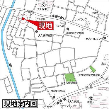 アパート-さいたま市桜区大字大久保領家 地図