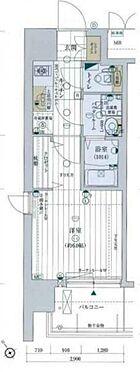 マンション(建物一部)-大阪市福島区海老江4丁目 間取り