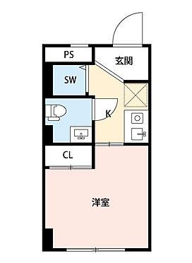マンション(建物一部)-中央区築地5丁目 間取り