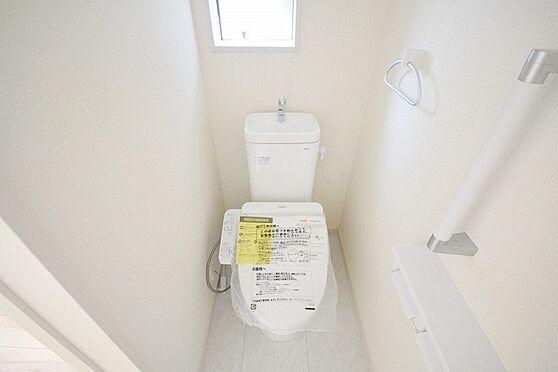 新築一戸建て-八王子市長房町 トイレ