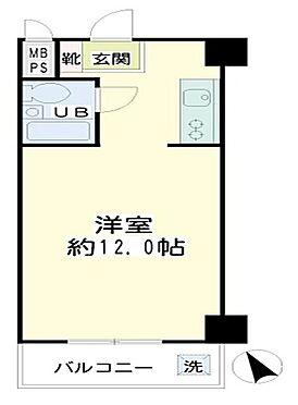 区分マンション-横浜市鶴見区鶴見中央3丁目 間取り