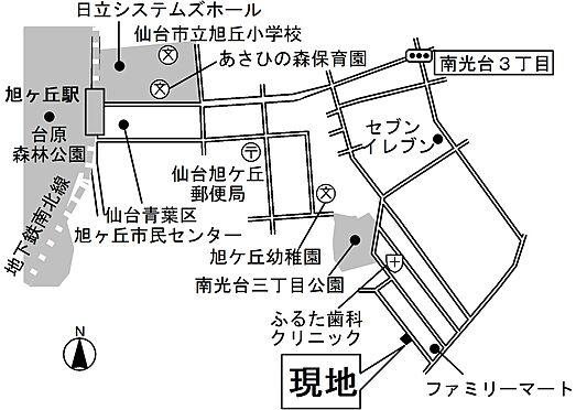 アパート-仙台市泉区南光台2丁目 地図