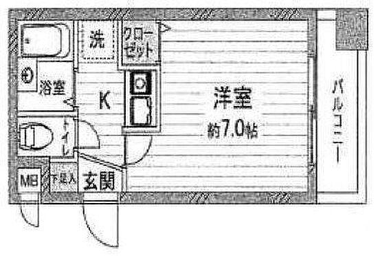 マンション(建物一部)-大阪市西区南堀江3丁目 バルコニーは南向き