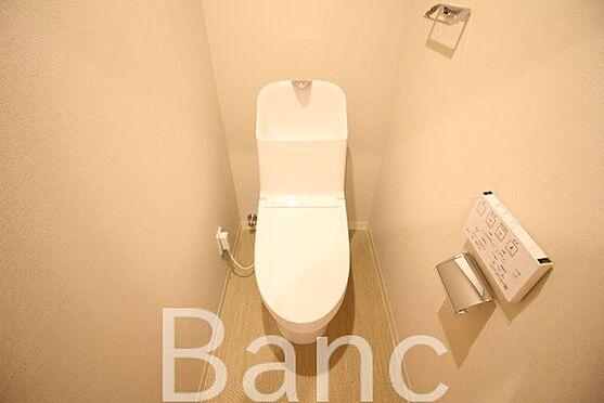 中古マンション-中野区南台5丁目 綺麗な高機能トイレです。