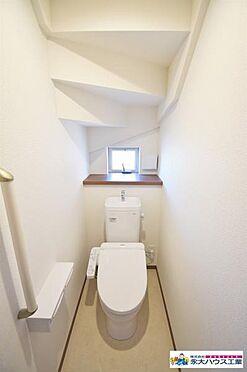 新築一戸建て-仙台市宮城野区福室6丁目 トイレ