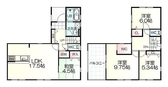 新築一戸建て-仙台市青葉区水の森2丁目 間取り