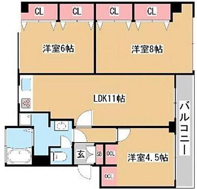 区分マンション-神戸市東灘区御影山手3丁目 大きなクローゼットで収納便利◎