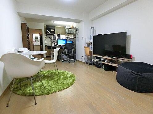 中古マンション-横浜市神奈川区栄町 縦長の空間を活かした室内レイアウト