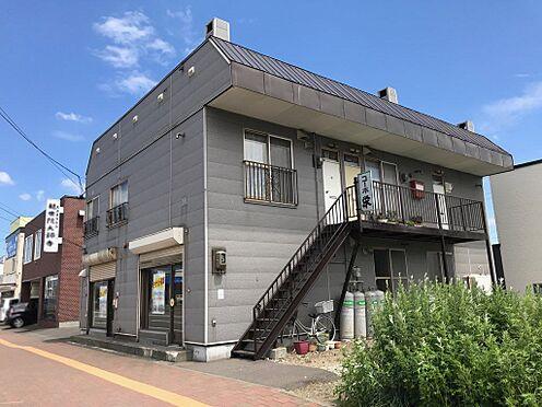 アパート-札幌市手稲区前田九条10丁目 石狩手稲線に面す店舗付きアパート
