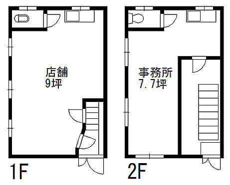 ビル(建物全部)-千代田区神田東松下町 間取り