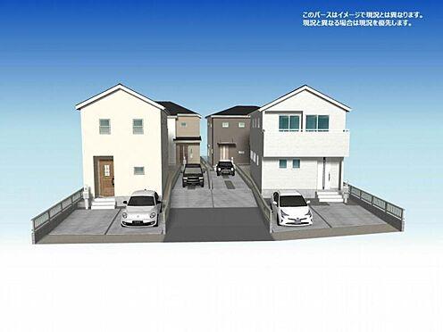 新築一戸建て-春日井市東野町8丁目 こちらのパースはイメージで現況とは異なります。
