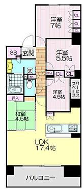 マンション(建物一部)-神戸市中央区栄町通7丁目 間取り