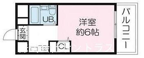 マンション(建物一部)-姫路市北平野6丁目 間取り