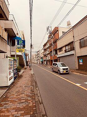 マンション(建物全部)-板橋区常盤台1丁目 前面道路