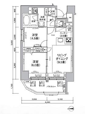マンション(建物一部)-荒川区町屋8丁目 間取り