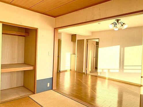 中古マンション-豊田市日南町5丁目 収納部分です。お布団や大物の日用品も収納できそうです。