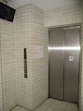 中古マンション-大阪市東成区玉津1丁目 エレベーターです