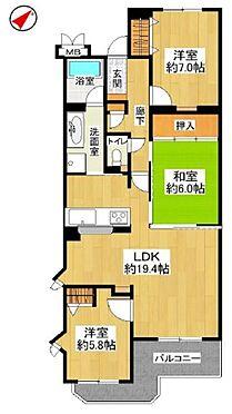 中古マンション-名古屋市名東区植園町1丁目 19帖を超えの解放感溢れるLDKが魅力です!
