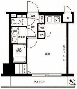 マンション(建物一部)-横浜市西区桜木町7丁目 間取り