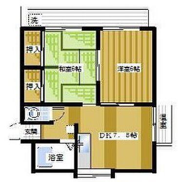 マンション(建物一部)-横須賀市若宮台 間取り
