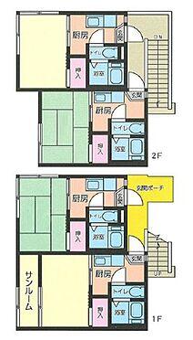 アパート-横浜市港北区綱島西 間取り